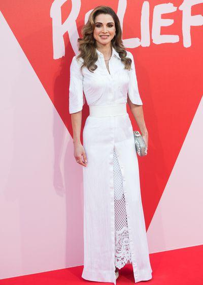 Queen Rania of Jordan, 2017