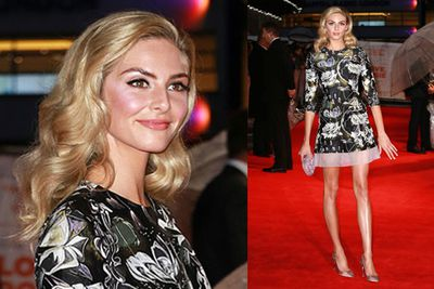 Tamsin Egerton shows off her sky-high legs in a short dress for the premiere of <i>Love, Rosie</i>.<br/><br/><i>Love, Rosie</i> hits Aussie cinemas on November 6, 2014. Keep scrolling through to check out the trailer..
