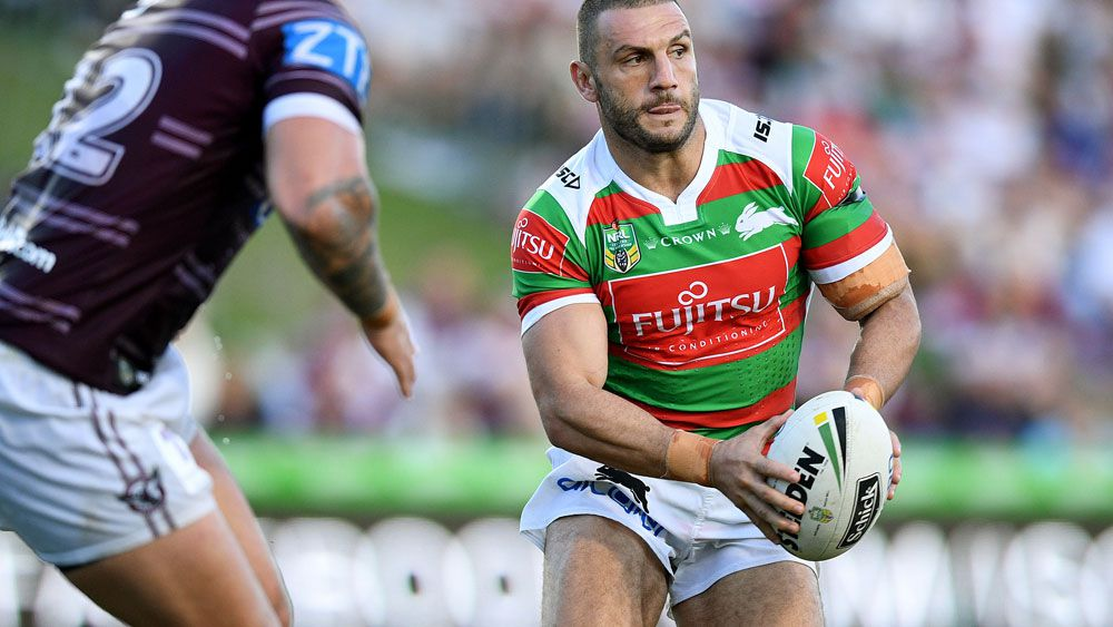 Robbie Farah gets first win - and try - for new club as South Sydney Rabbitohs  prove too good for Manly Sea Eagles