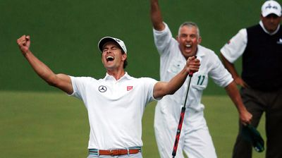 <b>Adam Scott, Queensland finalist</b><br> The world's number one golfer and founder of a charity in his name to support disadvantaged young people. (Image: Getty)