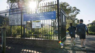 NSW Premier Gladys Berejiklian is 'confident' students will return to school before the end of the year. Pictured is Clemton Park Public School in south Sydney.
