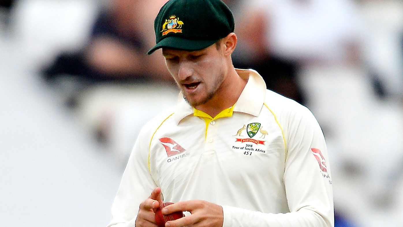 Cameron Bancroft of Australia during day 3 of the 3rd Sunfoil Test match between South Africa and Australia at PPC Newlands on March 24, 2018 in Cape Town, South Africa. (Photo by Ashley Vlotman/Gallo Images/Getty Images)
