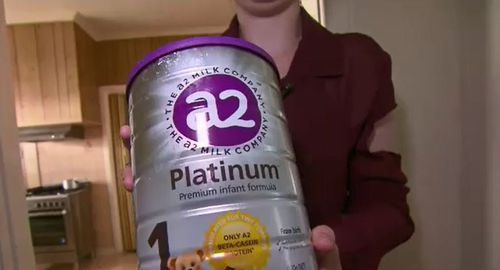 The A2 Platinum formula is highly sought after in the Chinese market because of the brand's reputation for quality.