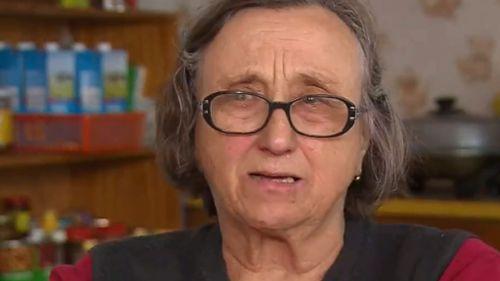A heartbroken Mira Trett spoke to 9NEWS about her injured son. (9NEWS)