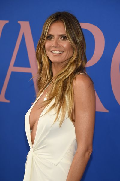"<p>The <a href=""http://style.nine.com.au/2016/06/07/11/09/cfda-2016-red-carpet"" target=""_blank"">CFDA Awards</a> are where designers and stylists are honoured by the Council of Fashion Designers of America but German supermodel <a href=""http://style.nine.com.au/2016/10/24/10/18/heidi-klum-elle-macpherson-underwear-supermarket"" target=""_blank"">Heidi Klum</a> has taken out the top prize on the red carpet.</p> <p> In a floor-length Zac Posen white gown the 44-year-old supermodel and mother of four demonstrated why she was willing to challenge Elle Macpherson to the title of The Body with a daring display of cleavage.</p> <p> At the CFDA Awards makeup artist Pat McGrath is receiving the Founder's Award, Balenciaga and Vetements designer Demna Gvasalia has been given the International Award and the <em>Vogue </em>Italy editor Franca Sozzani will be honoured with the Fashion Icon Award.</p> <p> The CFDA Awards may be slightly more low-key than the <a href=""https://style.nine.com.au/2017/05/02/08/15/met-gala-red-carpet-2017/3"" target=""_blank"">MetGala</a> but guests such as Nicole Kidman, Jessica Chastain and Olivia Wilde deliver a serious high fashion fix.</p>"