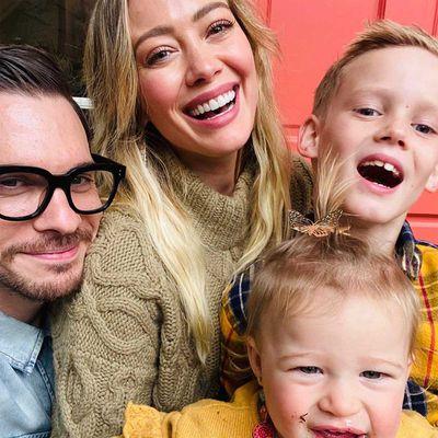 Hilary Duff, Matthew Korma, Banks and Luca