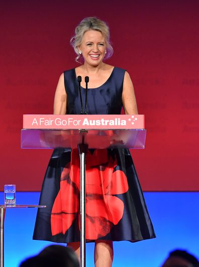 Chloe Shorten give speech