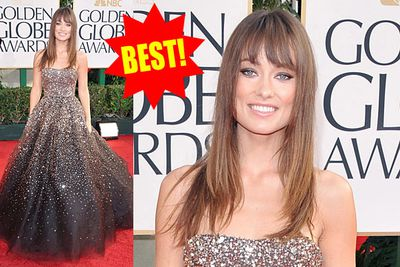 Olivia Wilde was all sparkles and old-style glamour in 2011.