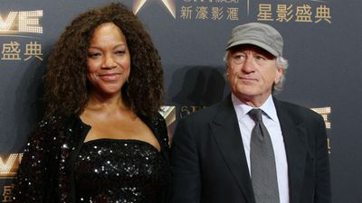 Robert De Niro, right, poses with his wife Grace Hightower. (AAP)