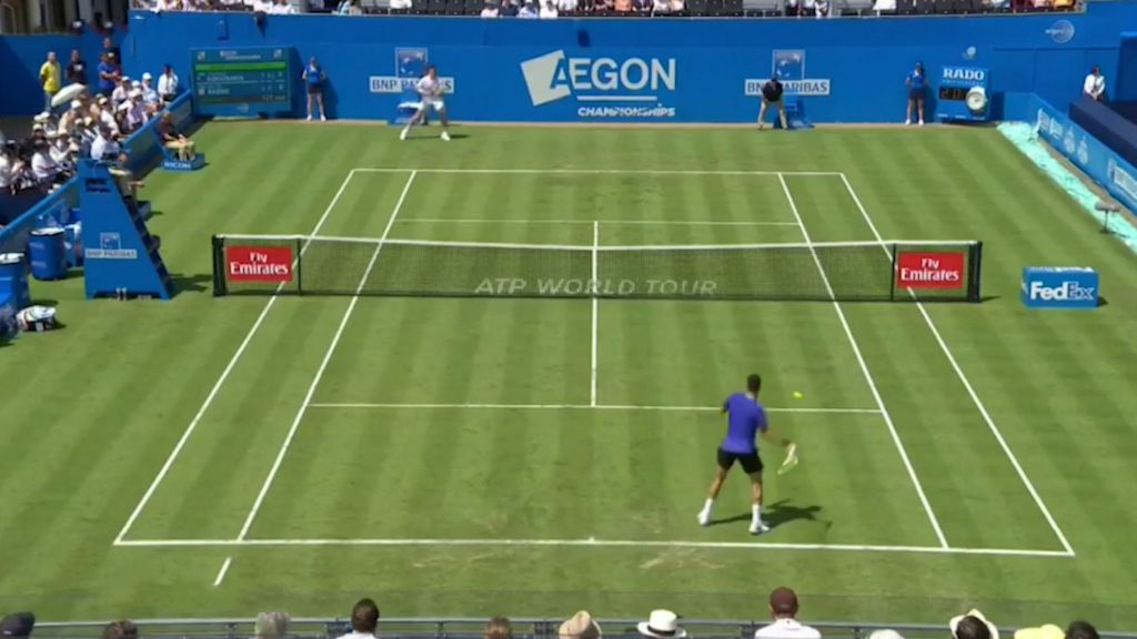 Kokkinakis beats Roanic at Queen's