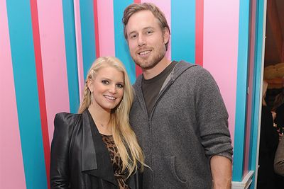 "<b>May 2010: </b> Simpson announces her relationship with NFL player Eric Johnson.... with the pair announcing their engagement in November. <br/><br/><b>October 2011:</b> It's official!  The couple are expecting a child together, with Simpson tweeting, ""It's true - I'm going to be a mummy!""<br/><br/><b>May 2012:</b> The couple welcome their first child together, daughter Maxwell Drew, followed by their second in mid-2013, Ace Knute. <br/>"