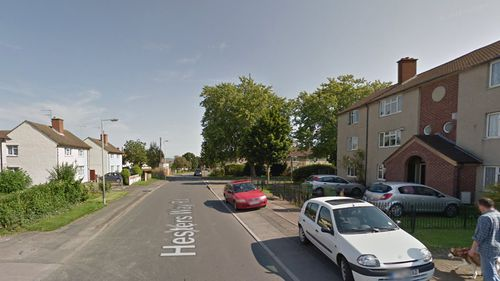 The incident occurred on Hesters Way Rd, Gloucester, England. (Google)