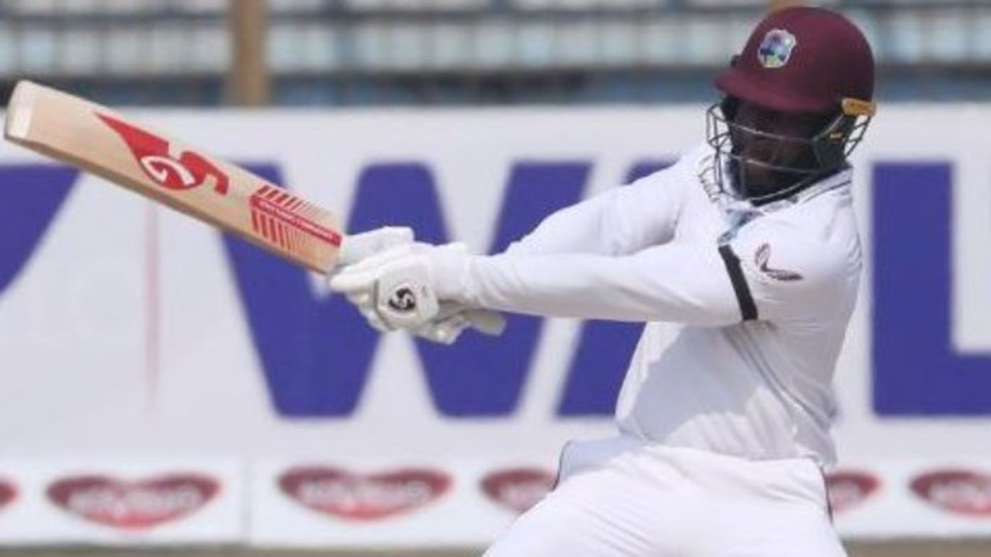 Debutant Kyle Mayers hits 210 not out as West Indies chase 395 to beat Bangladesh