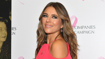 In interesting news, Liz Hurley is learning rap to impress her 16-year-old son