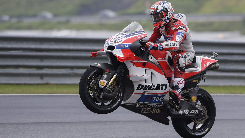 Ducati's Andre Dovizioso.(AAP)