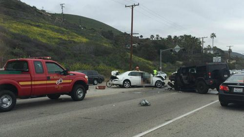 Bruce Jenner 'fleeing paparazzi' at time of car crash that left woman dead