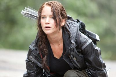In the ultimate survival of the fittest, Katniss uses her archery skills and all-round smarts to outwit her competitors, and fight for her family and her own life.