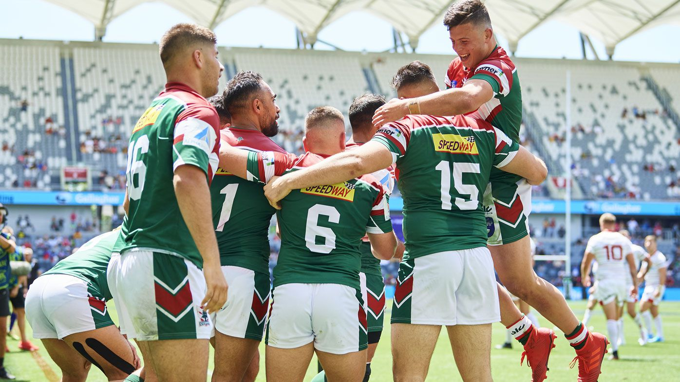 Lebanon stun England in biggest Rugby League World Cup 9s upset