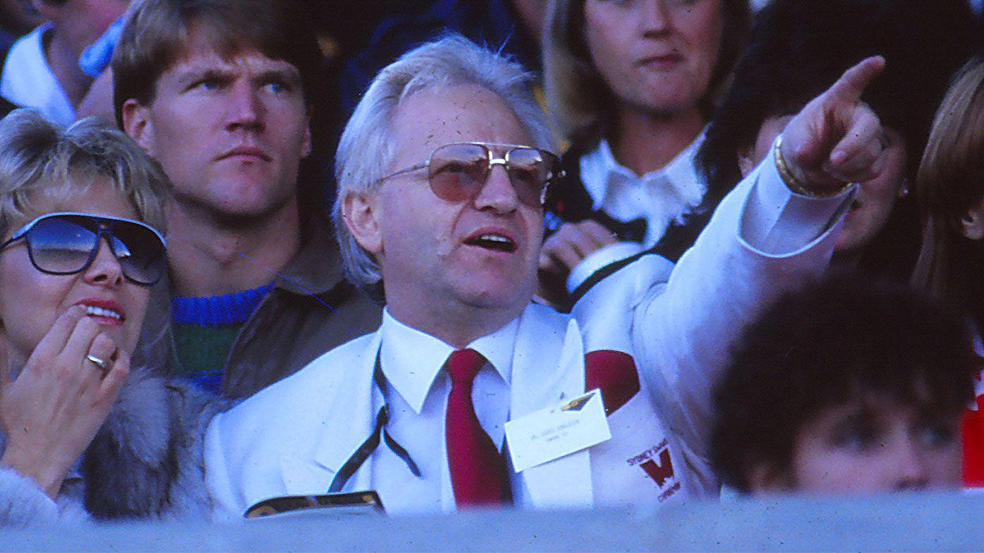 AFL legend Greg Williams pays tribute to Geoffrey Edelsten after death