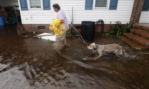 North Carolina Governor Roy Cooper warned the flooding from Florence was far from over and would get worse in areas.