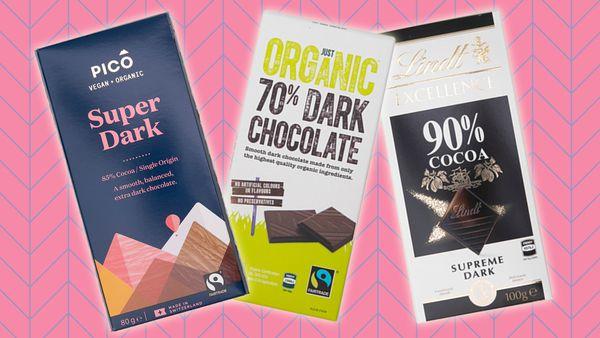 Dark chocolate ranked