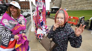 'Got to get in on the action': Locals cashing in on the royal wedding