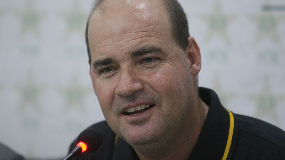 Former Australia coach Mickey Arthur will be looking to mastermind a series win for Pakistan. (AAP)