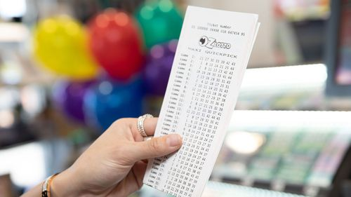 Somebody has won $40 million in the Oz Lotto jackpot draw.