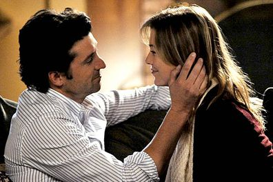 "<i>Grey's Anatomy</i> opened with Meredith (Ellen Pompeo) shagging Derek (Patrick Dempsey), so they got that out of the way early on. Problem was, the couple &mdash; dubbed ""Mer-Der"" by diehards &mdash; dated, and then they broke up, and then they dated again, and then they broke up again. Even the writers got bored of the cycle and hooked them up for good at the end of season four. <I>Finally</I>."