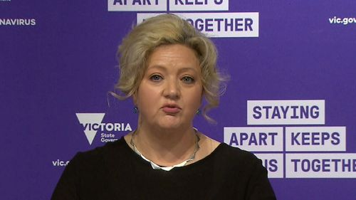 Victoria's Attorney-General Jill Hennessy