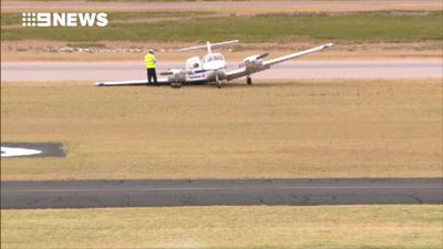 Light plane crashes at Perth's Jandakot Airport