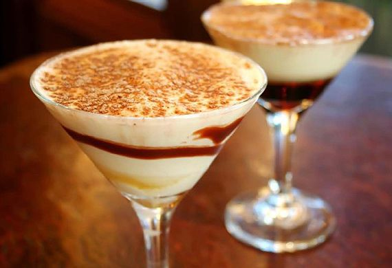 Cool passion double espresso mocktail