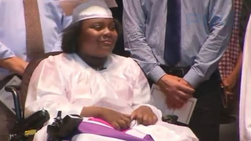 Tayloni will tansfer to a law high school next year, with the hopes of becoming a lawyer. (Pix11 News)