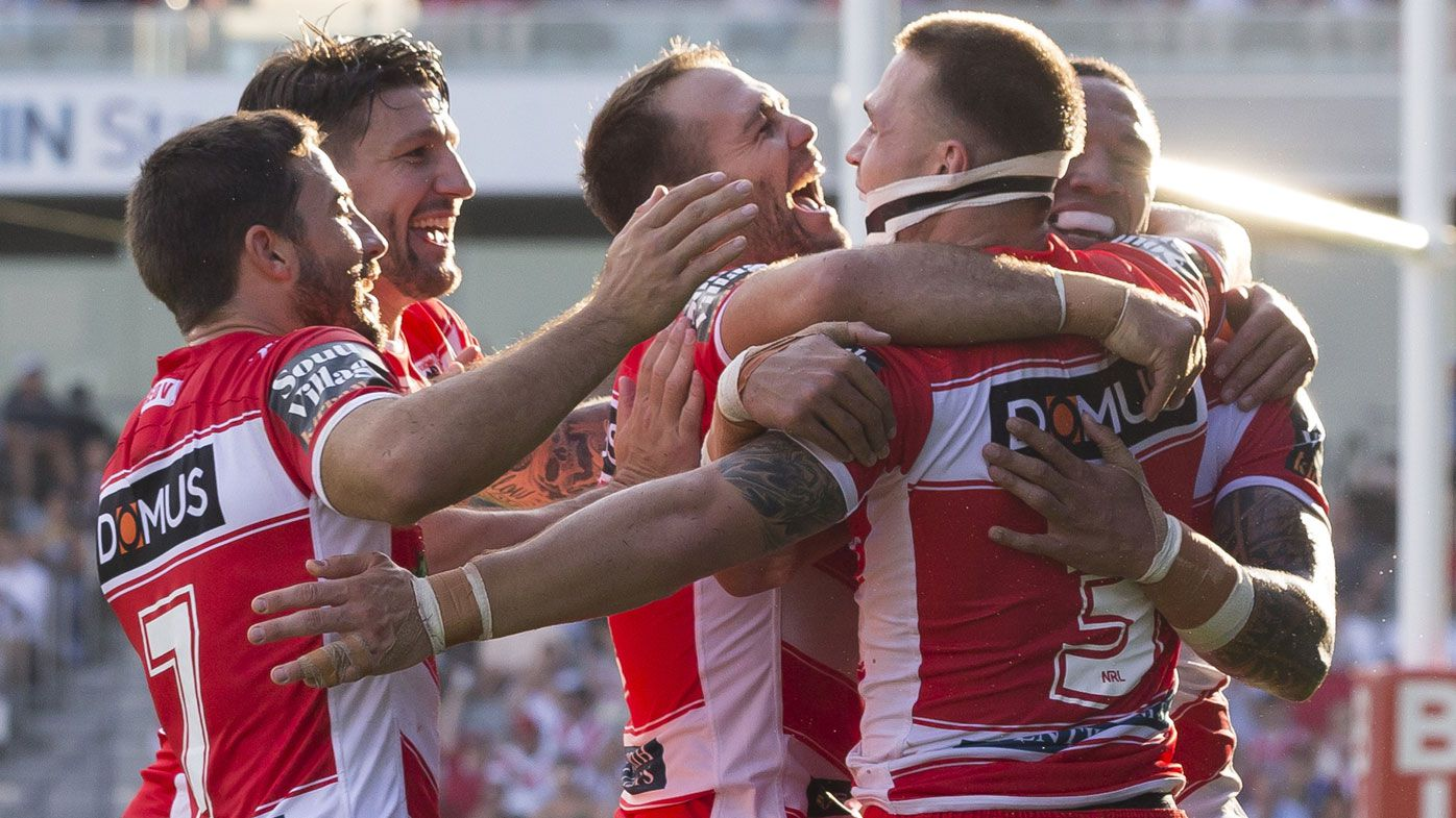 St George Illawarra Dragons make NRL history with win over Newcastle Knights