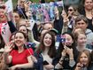Crowds eager to meet-and-greet royals in Melbourne