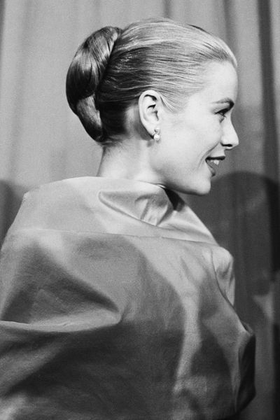 Each year the updo is reinvented and refreshed. Grace Kelly knew the power of a chignon in 1956.