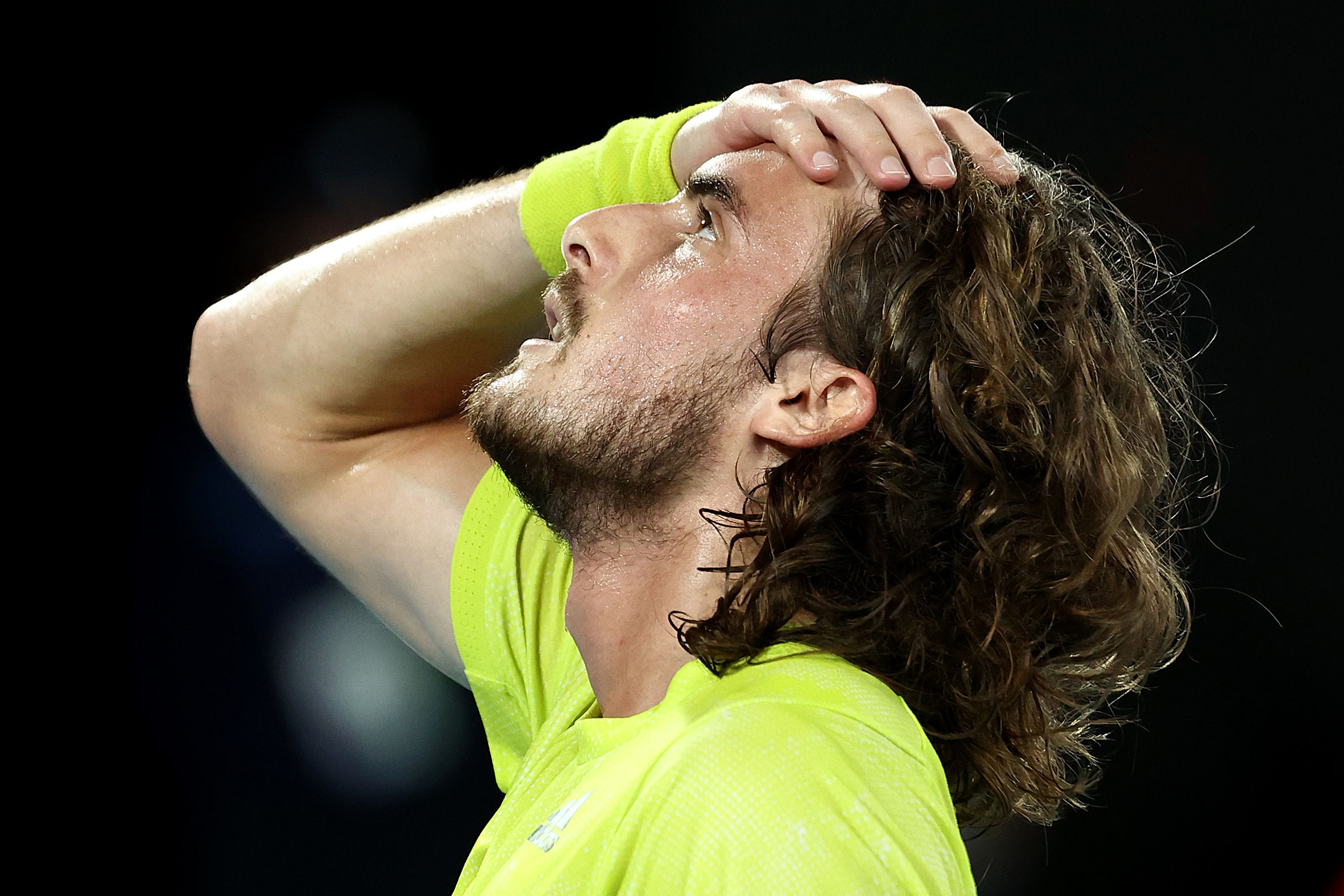 Stefanos Tsitsipas left 'speechless' after becoming third player ever to overcome two-set hole against Rafael Nadal