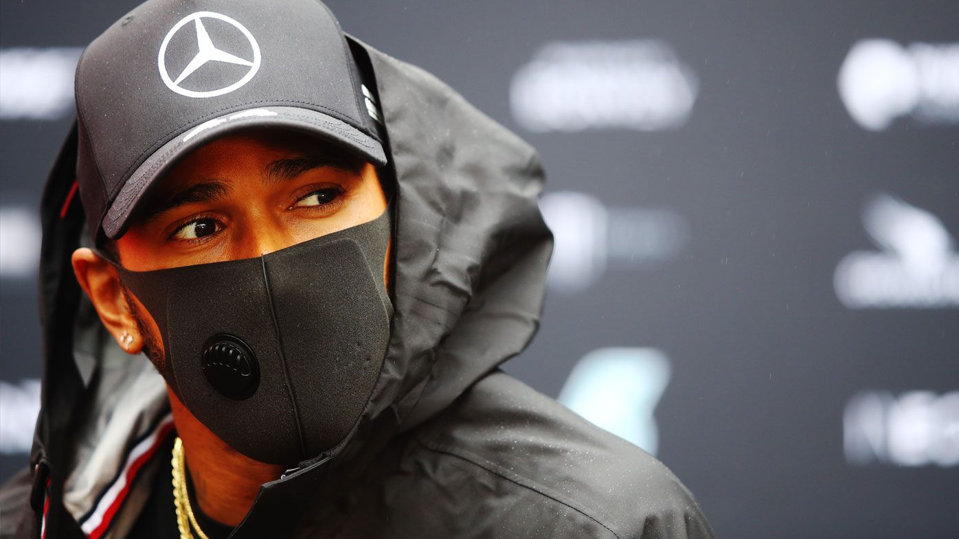 Lewis Hamilton of Mercedes is eyeing Michal Schumacher's F1 record in Germany. (Getty)