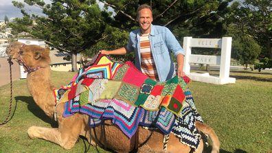 Tim gets 'fat shamed' by a camel