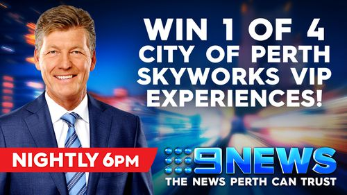 Win 1 of 4 City of Perth Skyworks VIP Experiences