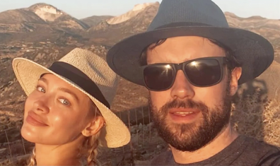 The pair met while Jack Whitehall was filming in Australia.