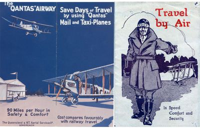 Qantas Brochure 1926 and 1929