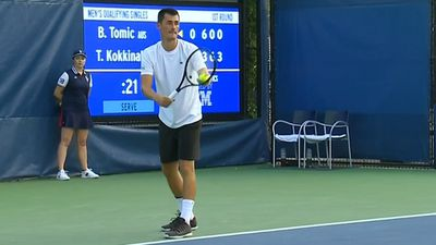 Kokkinakis ousts Tomic in US Open qualifying