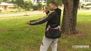 'I thought I was dead': Father narrowly avoids bullet in robbery