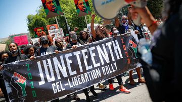 Juneteenth, the day marking the end of slavery in the US, is now a national holiday.