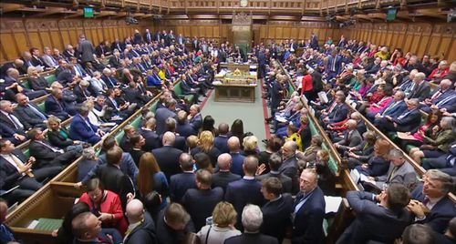 MPs vote in favour of Brexit Bill second reading