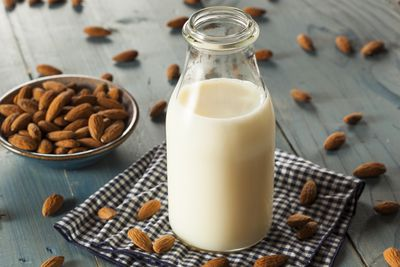 <strong>Almond milk</strong>