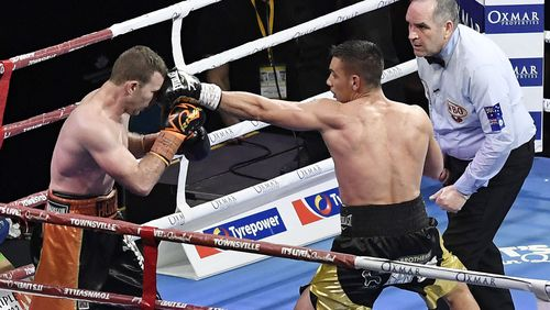 Tim Tszyu remains undefeated after victory over fellow Australian boxer Jeff Horn