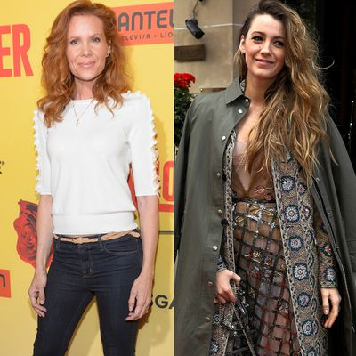 Robyn Lively and Blake Lively