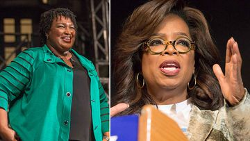Oprah Winfrey has made a surprise appearance in Georgia, urging voters to make history by backing Democratic gubernatorial candidate Stacey Abrams in next week's election.